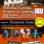 [Żegiestów]: Festiwal górski – Winter is coming