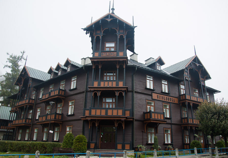 Witoldówka - Architektura Drewniana
