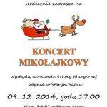 [Stary Sącz]: Koncert mikołajkowy w Starosądeckim Sokole