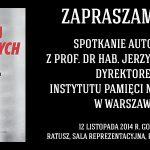 Siedmiu Wspaniałych – spotkanie autorskie z Jerzym Eislerem