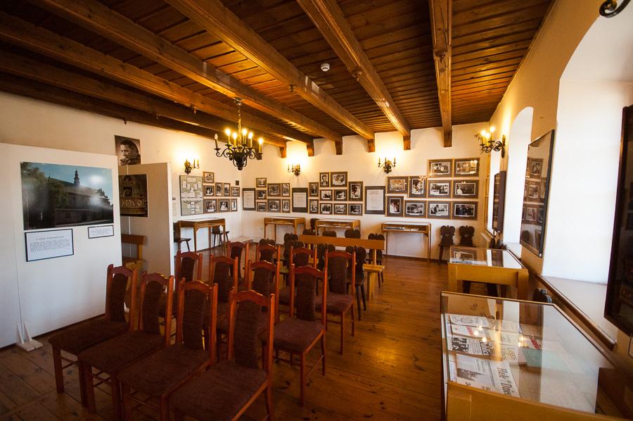 Sala poświęcona księdzu Tischnerowi