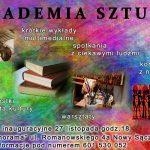 Akademia Sztuki – wykłady, warsztaty, konkursy, spotkania, koncerty