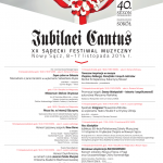 XX Sądecki Festiwal Muzyczny