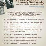 [Piwniczna] Jubileuszowy rok Danuty Szaflarskiej – przegląd dorobku artystycznego