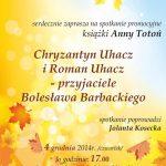 [Stary Sącz]: Promocja książki Anny Totoń