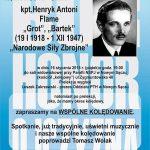 kpt. Henryk Antoni Flame – prelekcja