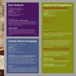 Kalendarz wydarzeń w Muzeum Okręgowym w Nowym Sączu