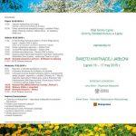 Weekend 15 – 17 maja
