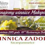 Poznajemy winnice małopolski