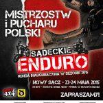 Sądeckie Enduro: I i II runda Mistrzostw Polski i Pucharu Polski w Rajdach Enduro