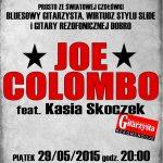 Jazz Club Atelier zaprasza – Joe Colombo feat. Kasia Skoczek