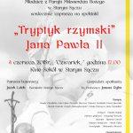 [Stary Sącz]: Tryptyk Rzymski Jana Pawła II