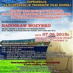 [Stary Sącz]: Konferencja trenerów piłki nożnej