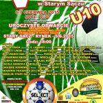 [Stary Sącz]: V Międzynarodowy Turniej Sokolika U 10
