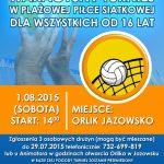 [Jazowsko]: Turniej Plażowej Piłki Siatkowej