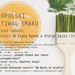 [Stary Sącz]: 11 Małopolski Festiwal Smaku