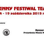Jesienny Festiwal Teatralny