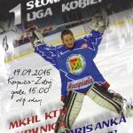 [Krynica – Zdrój]: Hokej – Słowacka I Liga Kobiet