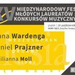 XXV Międzynarodowy Festiwal Młodych Laureatów Konkursów Muzycznych