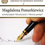 [Muszyna]: Magdalena Ponurkiewicz – spotkanie autorskie