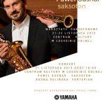 [Łososina Dolna]: Koncert Saksofonowy