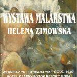 [Krynica – Zdrój]: Helena Zimowska – malarstwo