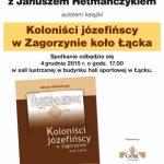 [Łącko]: Koloniści józefińscy w Zagorzynie koło Łącka