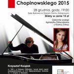 [Krynica – Zdrój]: Koncert Finalisty Konkursu Chopinowskiego