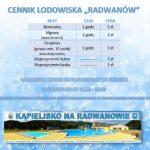 [Piwniczna Zdrój]: Cennik lodowiska na Radwanowie