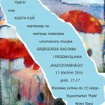 Wystawa malarstwa Agaty Kuś