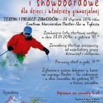 [Tylicz]: Zawody narciarskie i snowboardowe