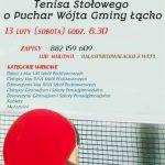 [Łącko]: Otwarty Turniej Tenisa Stołowego