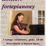 [Stary Sącz]: Koncert fortepianowy