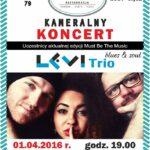 Koncert Levi Trio
