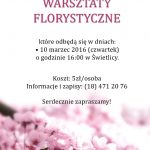 [Krynica – Zdrój]: Warsztaty Florystyczne