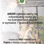 [Piwniczna Zdrój]: Nauka gry na instrumentach dętych