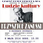 [Krynica – Zdrój]: Ludzie Kultury – niedziela z Krzysztofem Zanussim