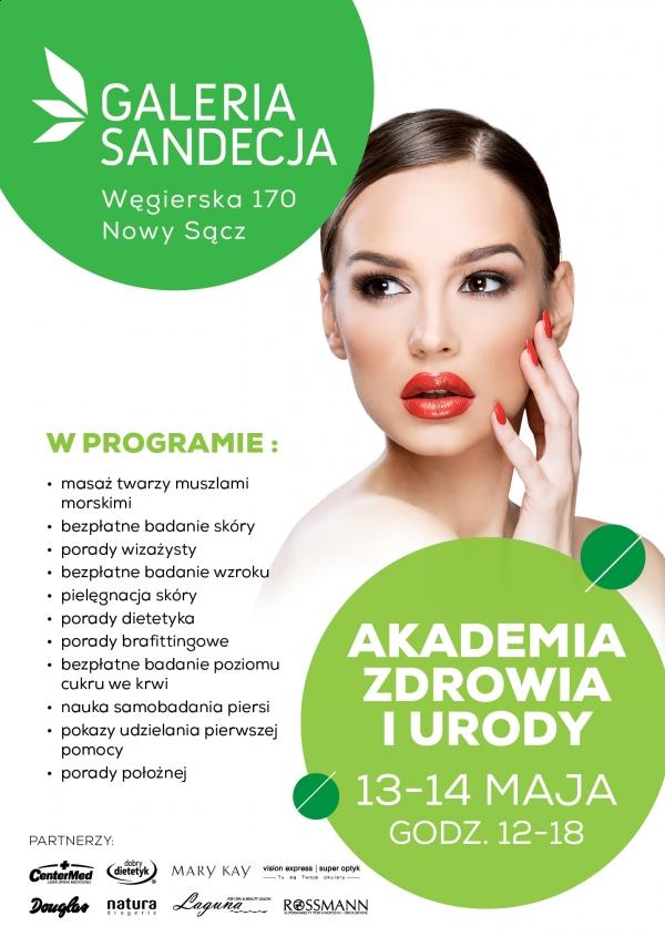 13-14 maja akademia zdrowia i urody