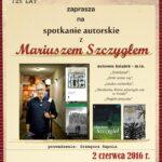 125 lat Sądeckiej Biblioteki Publicznej; Mariusz Szczygieł – spotkanie autorskie