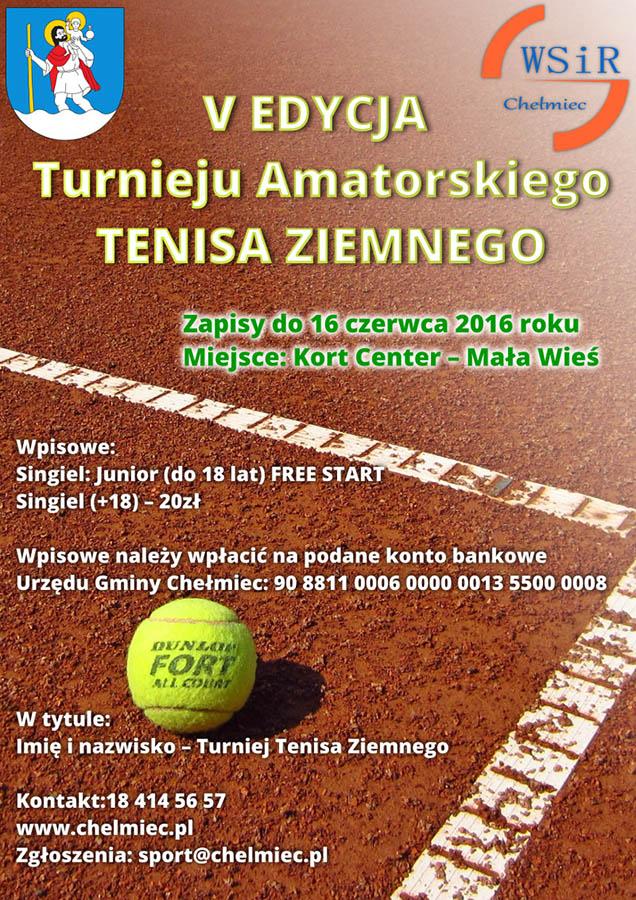 16 czerwca tenis chełmiec