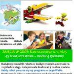 [Muszyna]: Wakacje z robotami LEGO
