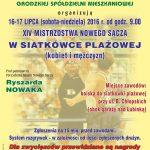 XIV Mistrzostwa Nowego Sącza w siatkówce plażowej