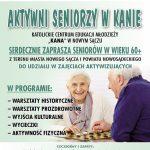 Aktywni seniorzy w KANIE