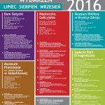 Kalendarz wydarzeń w Muzeum Okręgowym w Nowym Sączu – Lipiec, Sierpień, Wrzesień