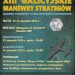 [Muszyna]: XIII Galicyjskie Manewry Strategów