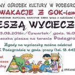 [Podegrodzie]: Piesza wakacyjna wycieczka dla dzieci