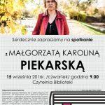 [Stary Sącz]: Spotkanie z Piekarską