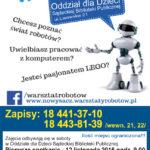 Warsztaty Robotów – zajęcia dla dzieci