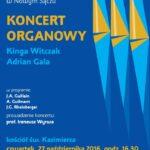 Koncert Organowy w Kazimierzu