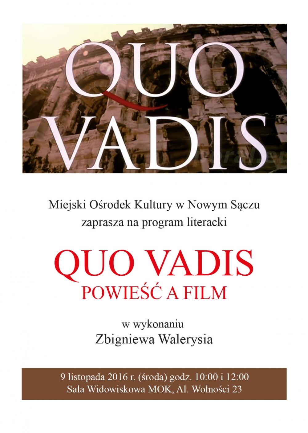 Quo Vadis Centrum Informacji Turystycznej